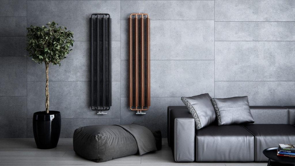 Designerskie grzejniki, niewidoczne ciepło i biokominek. Ogrzewanie to element aranżacji wnętrza