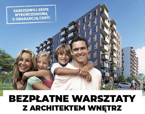 Bezpłatne warsztaty z architektem wnętrz w inwestycji Omulewska 26