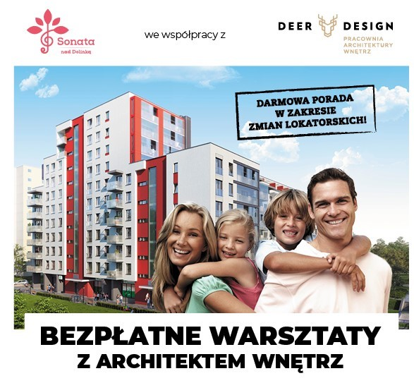 Inwestycja Sonata nad Dolinką i bezpłatne warsztaty z architektem